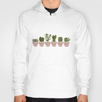 cacti Hoodies featuring Cacti & Succulents by Vicky Webb
