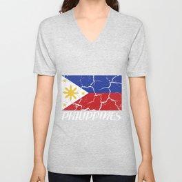 Philippines islands backpacking holiday gift Unisex V-Neck