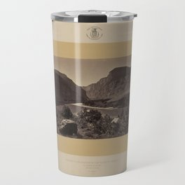 Geological Exploration of the Fortieth Parallel (1869) - The Gates of Lodore Travel Mug