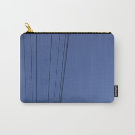 Lines & Bird Carry-All Pouch