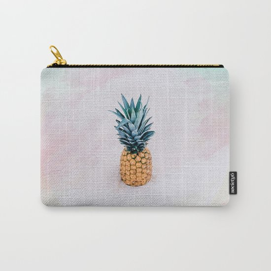 Pineapple on the beach Carry-All Pouch