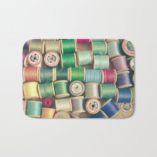 Cotton Reels Bath Mat