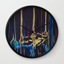 Raining Poisonous Beauty Wall Clock