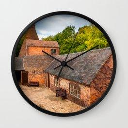 Bottle Kiln Coalport Wall Clock