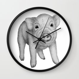 This Little Piggy Wall Clock