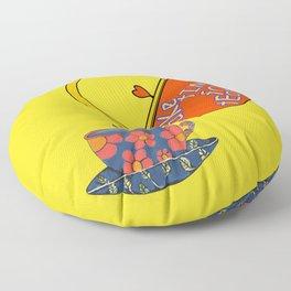 Take Time For Tea Floor Pillow