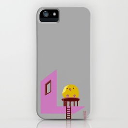 Little Chick ovo iPhone Case