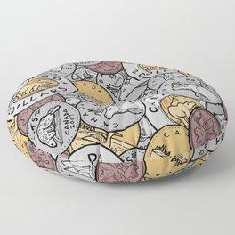 Canadian Coins Floor Pillow