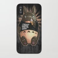 cuddle iPhone & iPod Cases featuring CUDDLE MONSTER by Tim Shumate