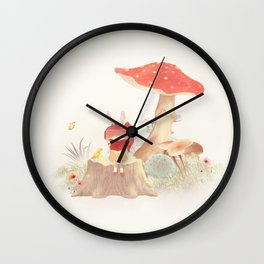 Silent Poetry Wall Clock