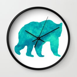 Ice Bear Wall Clock