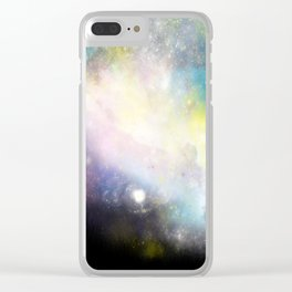 Nebula: Skyward Clear iPhone Case