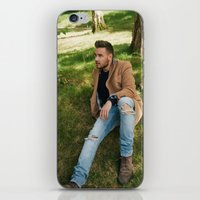 liam payne iPhone & iPod Skins featuring Liam Payne by behindthenoise
