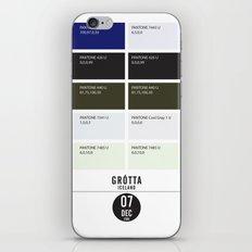 PANTONE glossary - Iceland - Grótta iPhone & iPod Skin