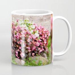 pink Begonia semperflorens clumps Coffee Mug
