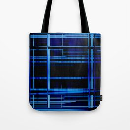 Blue Lights, Big City Twist Tote Bag