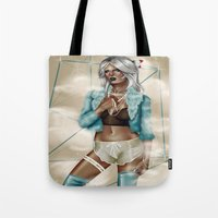 celestial Tote Bags featuring CELESTIAL  by Enola Jay