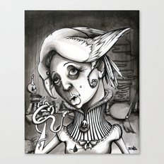 Lady Heartwood Canvas Print