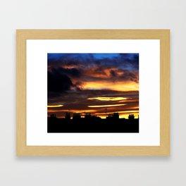 Everlasting Sunset Framed Art Print
