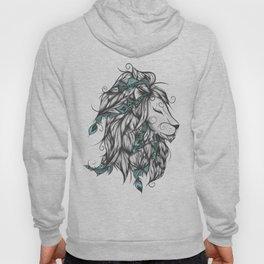 Poetic Lion Turquoise Hoody