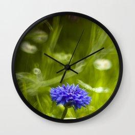 Cornflower Wall Clock