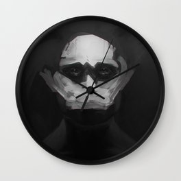Fractured Hannibal Wall Clock