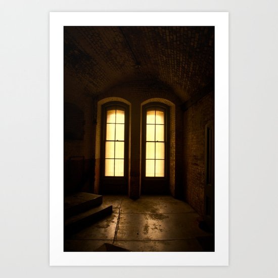 Paused In Time Art Print