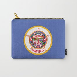 Minnesota State Flag Carry-All Pouch