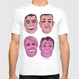 POINT BREAK SERIES - The Ex Presidents T-shirt
