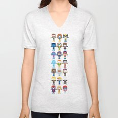 90's 'X-men' Robotics Unisex V-Neck