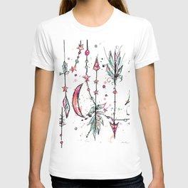 Bohemian Pink and Aqua T-shirt