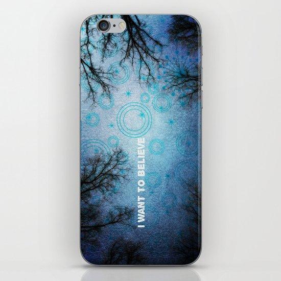 I want to believe... iPhone & iPod Skin