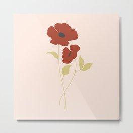 Poppies 5 Metal Print