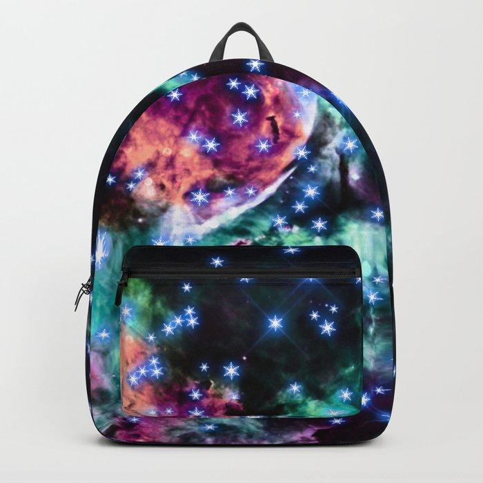 space stars. Backpack