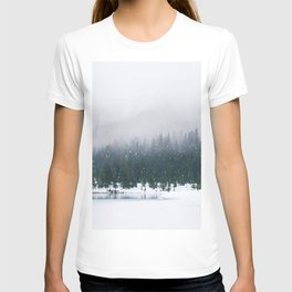 Evergreen Winter Forest (Color) T-shirt