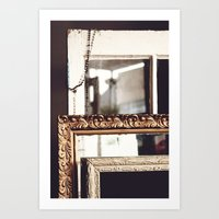 frames Art Prints featuring Frames by Allison Dandrea