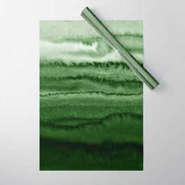 WITHIN THE TIDES FOREST GREEN by Monika Strigel Wrapping Paper