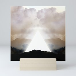 Abstract Landscape 02: New Beginnings Mini Art Print