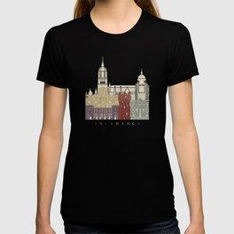 Salamanca skyline poster T-shirt