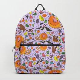Cute Tropical Pattern Backpack
