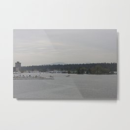 Vancouver Harbour Metal Print