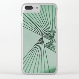 Green Explicit Focused Love Clear iPhone Case