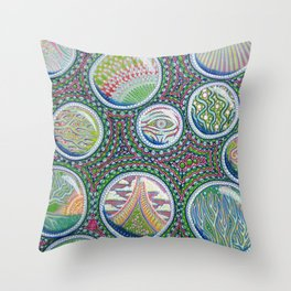 Many Worlds Throw Pillow