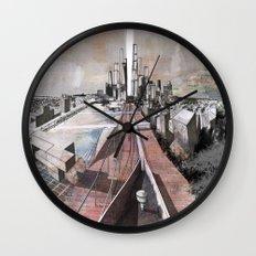 Paris d'avenir 2 Wall Clock