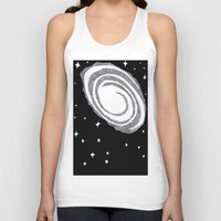 cosmic Tank Tops featuring cosmic  by Dal Sohal