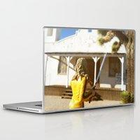 kill bill Laptop & iPad Skins featuring Kill Bill: The Bride Returns by Chris Bergeron