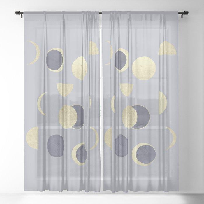 Moons Sheer Curtain