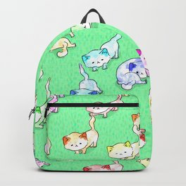 Random Cat Moves Backpack