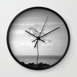 Ocean tree. Wall Clock