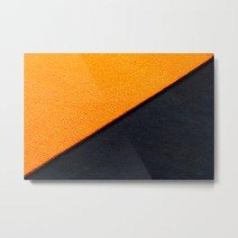 Orange Carpet Metal Print